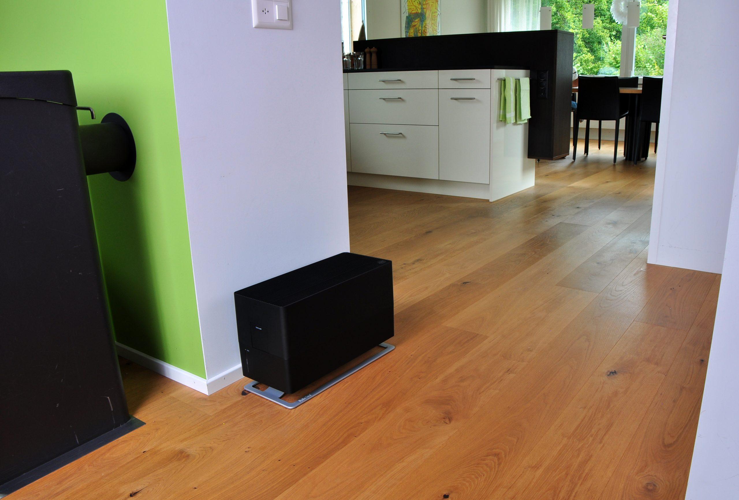 Традиционный увлажнитель воздуха Stadler Form Oskar Big Black лайфстайл1
