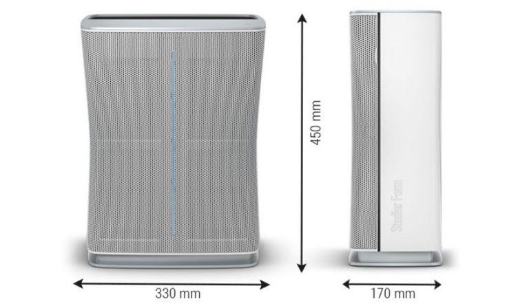 Очиститель воздуха Stadler Form Roger little габаритные размеры