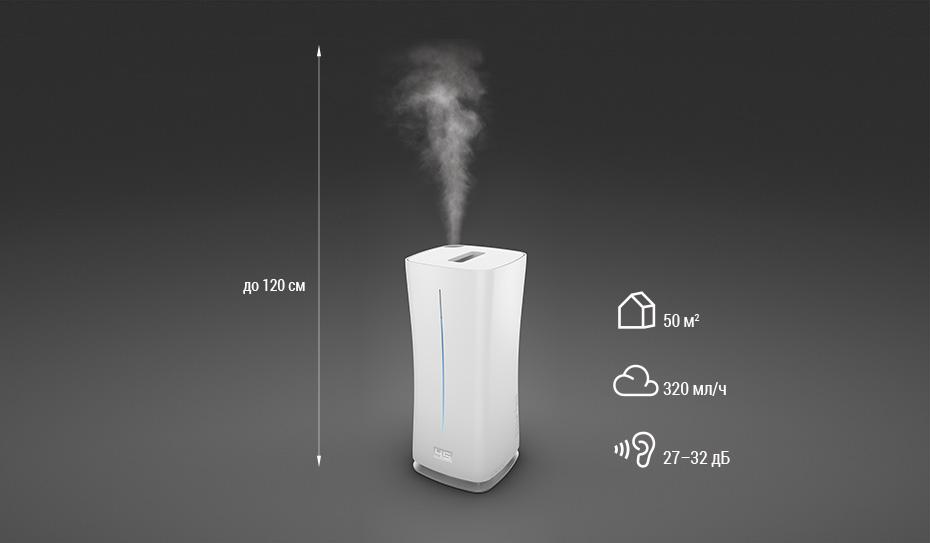 Зволожучав повітря ультразвуковий Stadler Form Eva основні показники