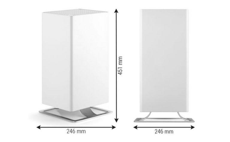 Очиститель воздуха Stadler Form Viktor габаритні розміри