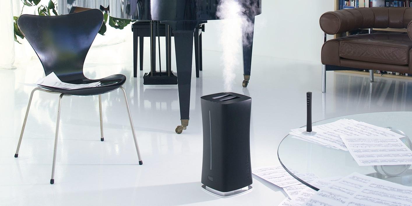 Увлажнитель воздуха ультразвуковой Stadler Form Eva black lifestyle for site compressed